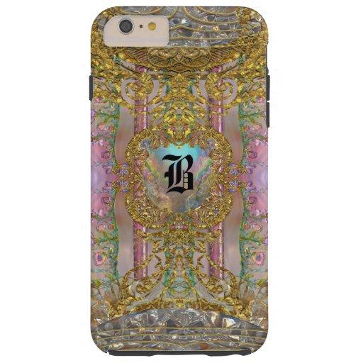 Hollinger Girly Pretty 6/6s Monogram Plus Tough iPhone 6 Plus Case