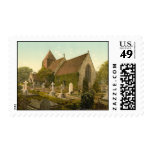 Hollington Church, Hastings, Sussex, England Postage Stamp