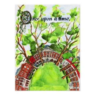 Hollins University - Once Upon a Time Poster