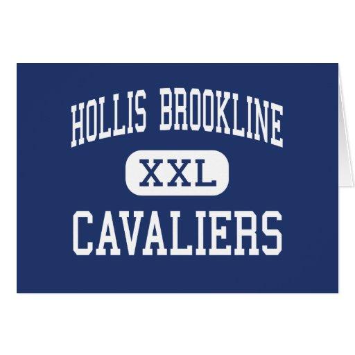 Hollis Brookline - Cavaliers - High - Hollis Greeting Card
