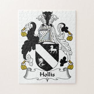 Hollis Family Crest Puzzles