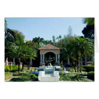 Hollis Gardenscape Tarjeta De Felicitación