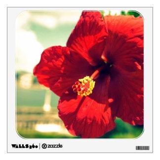 Hollis Hibiscus Wall Sticker
