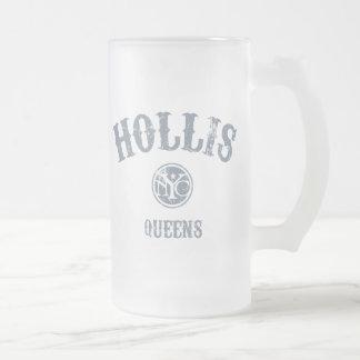 Hollis Jarra De Cerveza Esmerilada