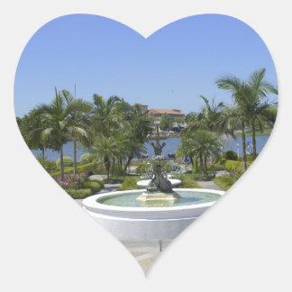 Hollis Overlook Heart Sticker