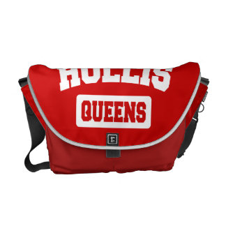 Hollis, Queens, NYC Courier Bag