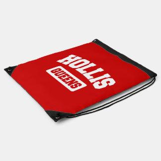 Hollis, Queens, NYC Drawstring Bag