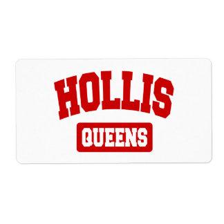 Hollis, Queens, NYC Label