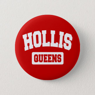 Hollis, Queens, NYC Pinback Button