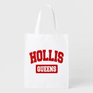 Hollis, Queens, NYC Reusable Grocery Bag