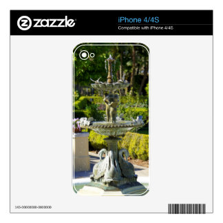 Hollis Statue Skin For iPhone 4