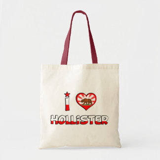 Hollister, CA Tote Bags