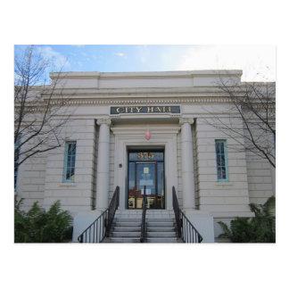 Hollister City Hall Postcard