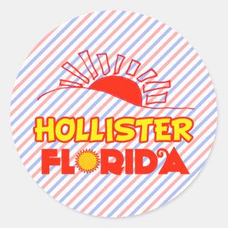 Hollister, Florida Classic Round Sticker
