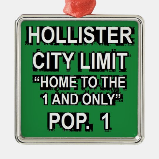 Hollister One and Only Metal Ornament