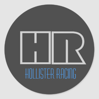 Hollister Racing Classic Round Sticker