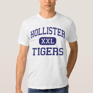 Hollister - tigres - alto - Hollister Missouri Camisas