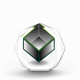 Hollow cube- an enclosed space with open top award