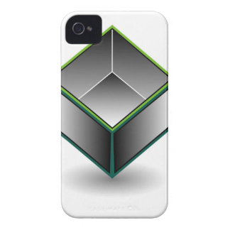 Hollow cube- an enclosed space with open top iPhone 4 case