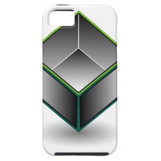 Hollow cube- an enclosed space with open top iPhone SE/5/5s case