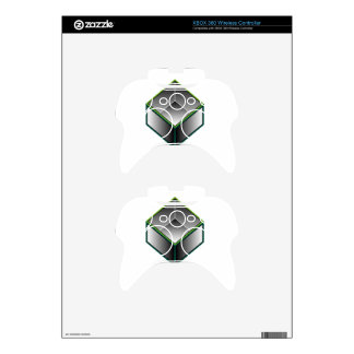 Hollow cube- an enclosed space with open top xbox 360 controller decal