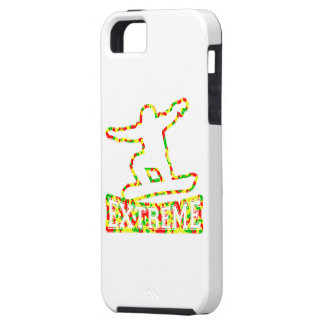 HOLLOW EXTREME SNOWBOARDER IN RGY CAMO iPhone SE/5/5s CASE