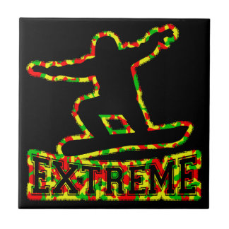 HOLLOW EXTREME SNOWBOARDER IN RGY CAMO TILE