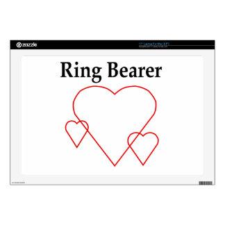 Hollow Hearts Ring Bearer Laptop Skin