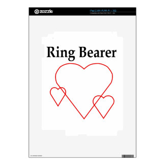 Hollow Hearts Ring Bearer Skins For The iPad 2