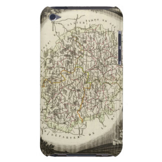 Hollow Maps iPod Case-Mate Case
