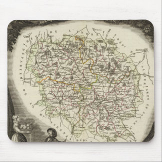 Hollow Maps Mouse Pad
