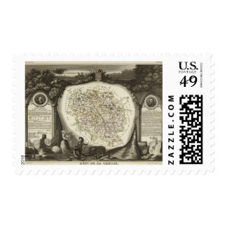Hollow Maps Postage