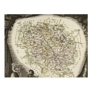 Hollow Maps Postcard