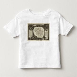Hollow Maps Toddler T-shirt