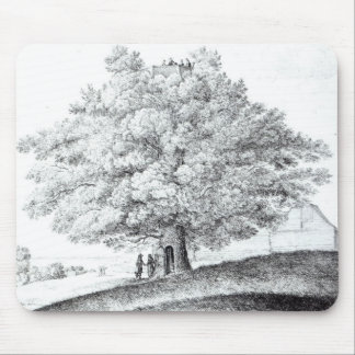 Hollow Tree at Hampstead, 1663 Mouse Pad