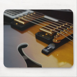 Hollowbody Guitar Mousepad