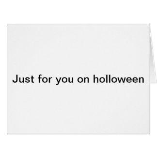Holloween card