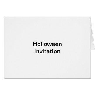 Holloween invitation