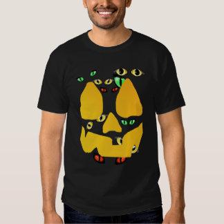 Holloween Pumkin and Eyes T-Shirt