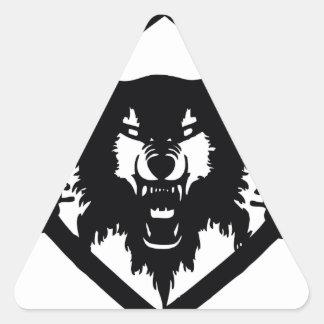 Hollowsquad Triangle Sticker