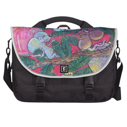 Holly and Angel Laptop Computer Bag