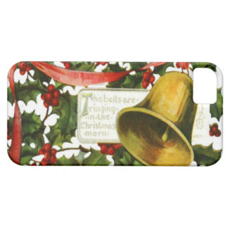 Holly and bells Christmas greeting iPhone SE/5/5s Case