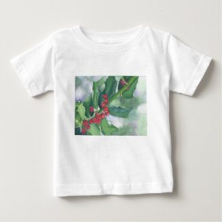 Holly and Berries Baby T-Shirt