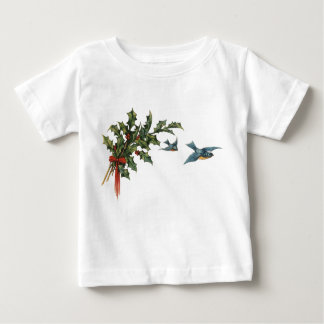 Holly and Birds Baby Shirt