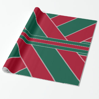 Holly and Ivy-Colored Wrapping Paper