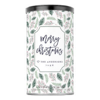 Holly and Pine | Personalized Christmas Hot Chocolate Drink Mix