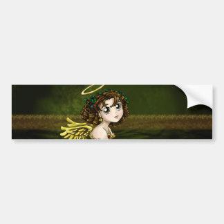 Holly Angel Bumper Sticker