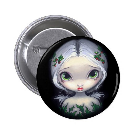 """""""Holly Angel"""" Button"""