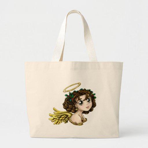 Holly Angel Jumbo Tote Bag