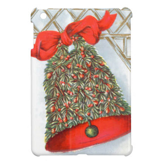 Holly Bell Red Ribbon Glad Tidings iPad Mini Cover